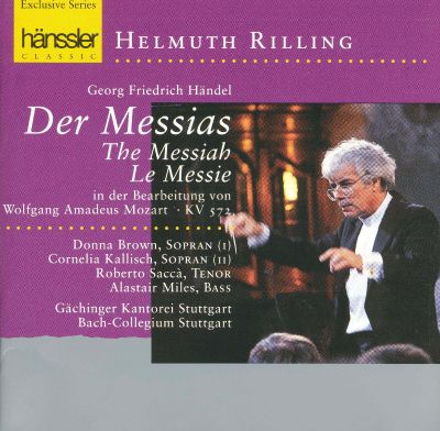 h ndel der messias helmuth rilling songs reviews credits allmusic. Black Bedroom Furniture Sets. Home Design Ideas