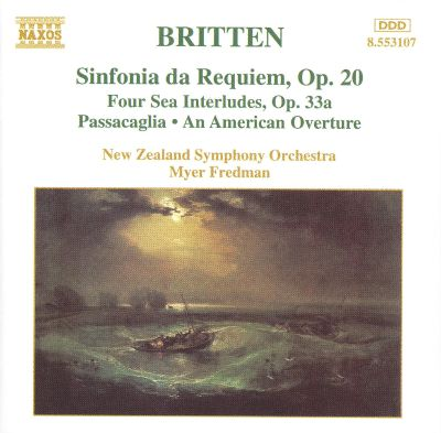 Sea Interludes (4) from Peter Grimes, for orchestra, Op. 33a