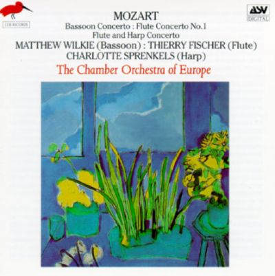 Mozart three concertos chamber orchestra of europe for Chamber orchestra of europe