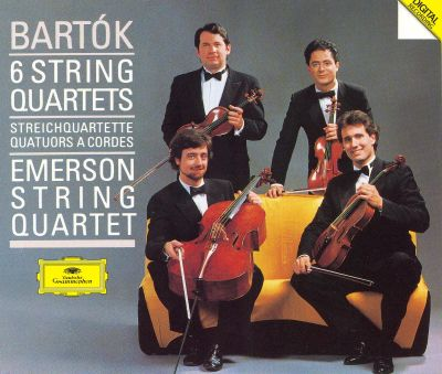 Bartok: Six String Quartets - Emerson String Quartet Songs, Reviews, Credits AllMusic