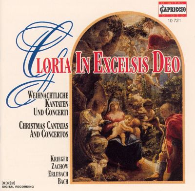 Gloria in Excelsis Deo: Christmas Cantatas and Concertos - Klaus Eichhorn | Songs, Reviews ...