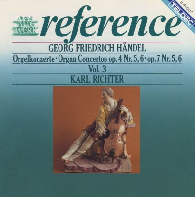 Organ Concerto in B flat major, Op.7/6, HWV 311
