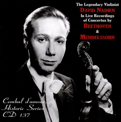 Nadien And His Violin Humoresque And The Worlds Most Popular Violin Solos