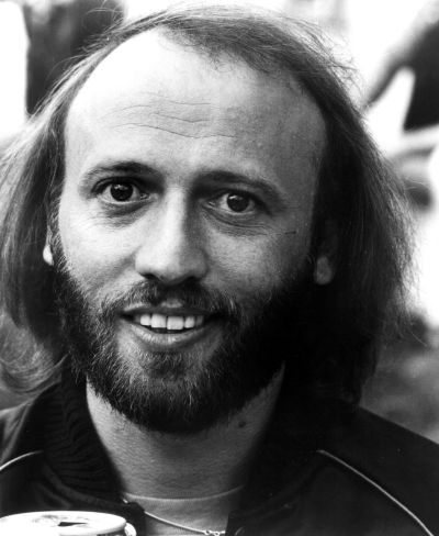 Photo of Barry Gibb & his  Brother  Maurice Gibb