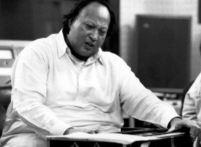 Nusrat Fateh Ali Khan Death Photos Nusrat Fateh Ali Khan