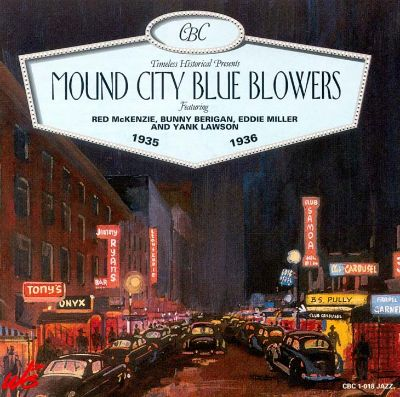 Image result for the mound city blue blowers albums