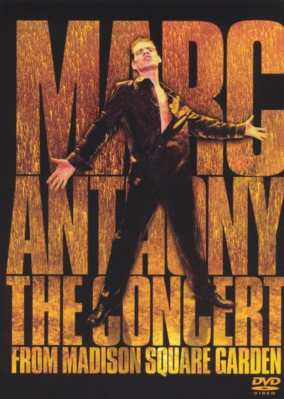 The concert from madison square garden video dvd marc - Marc anthony madison square garden ...