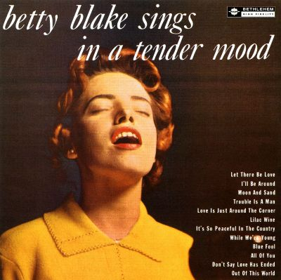 betty blake - in a tender mood