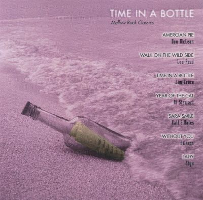 time in a bottle The song time in a bottle was written by jim croce and was first released by jim  croce in 1972 it was covered by eddie kendricks, nana mouskouri, david.