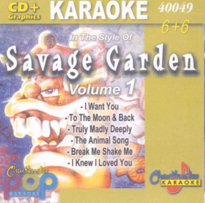 Chartbuster Karaoke Savage Garden Vol 1 Karaoke Songs Reviews Credits Awards Allmusic
