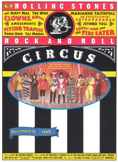 The Rolling Stones Rock and Roll Circus [DVD/Bonus Material]