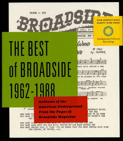 Best of broadside 1962 1988 various artists songs for Best music 1988