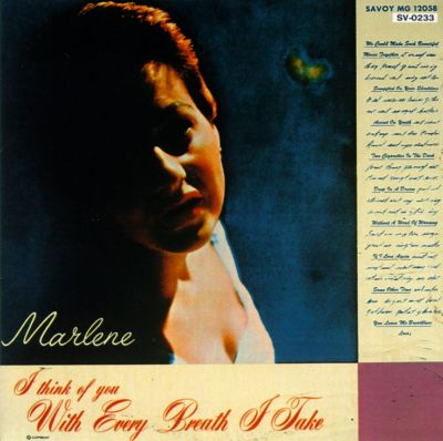 marlene - sings with every breathe i take