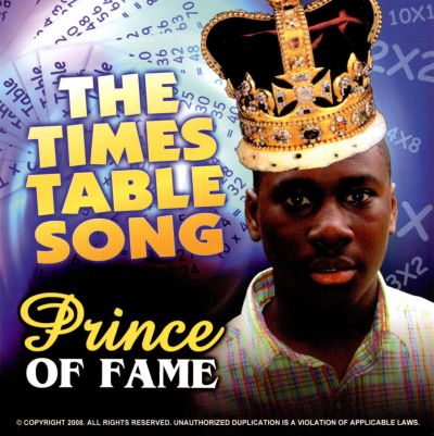 The times table song prince of fame songs reviews for 11 times table rap