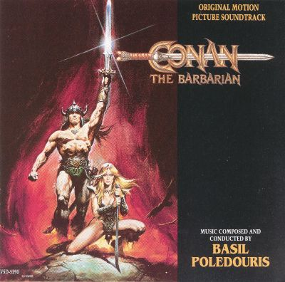 Conan the Barbarian, film score