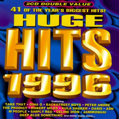 huge hits 1996 various artists songs reviews credits