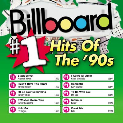 Billboard 1 hits of the 39 90s various artists songs for Classic house albums 90s