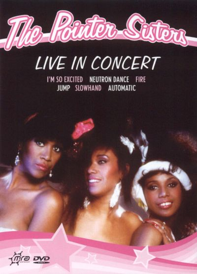 The Pointer Sisters – Live In Concert