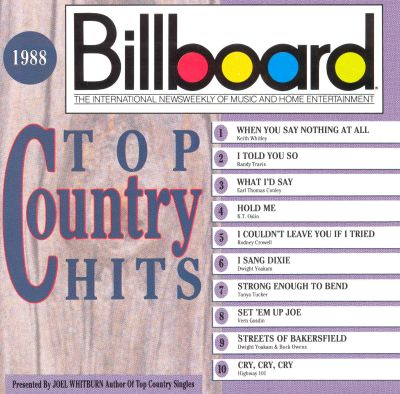 billboard top country hits 1988 various artists songs
