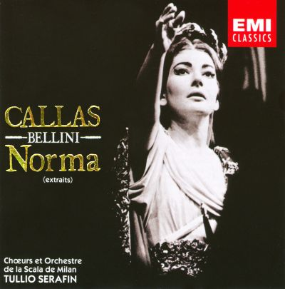 Vincenzo bellini norma maria callas songs reviews - Norma casta diva bellini ...