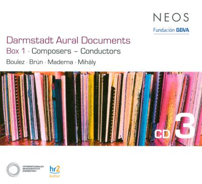 Darmstadt aural documents box 1 composers conductors for Darmstadt aural documents box 3