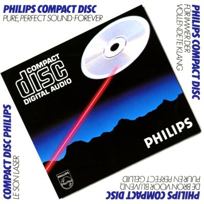 """The pure perfect sound of Philips Compact Disc"" MI0003169272.jpg?partner=allrovi"