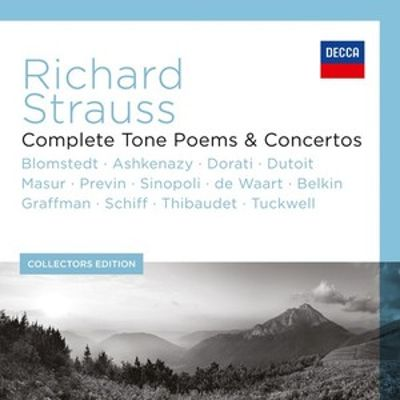 Richard Strauss: Complete Tone Poems & Concertos