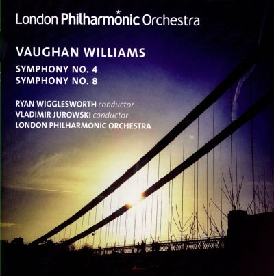 Vaughan Williams: Symphony No. 4; Symphony No. 8