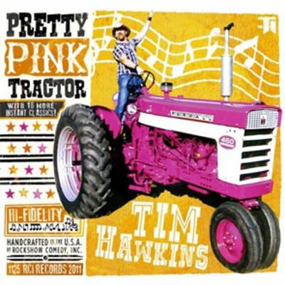 Pretty Pink Tractor