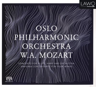 Mozart: Concerto for Flute, Harp and Orchestra; Sinfonia Concertante for Four Winds