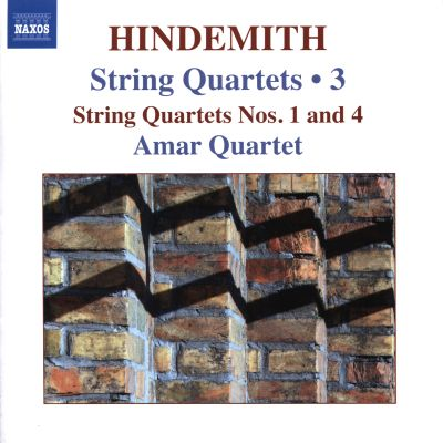 Hindemith: String Quartets, Vol. 3