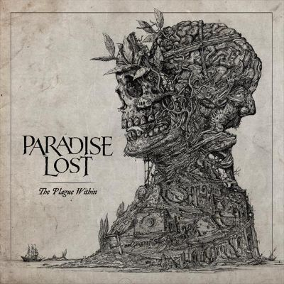 Foto de la tapa de The Plague Within por Paradise Lost, artista de Metal