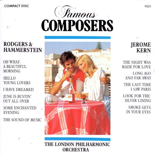 Rodgers & Hammerstein: O What a Beautiful Morning; Hello Young Lovers; Jerome Kern: The Night Was Made For Love; etc.