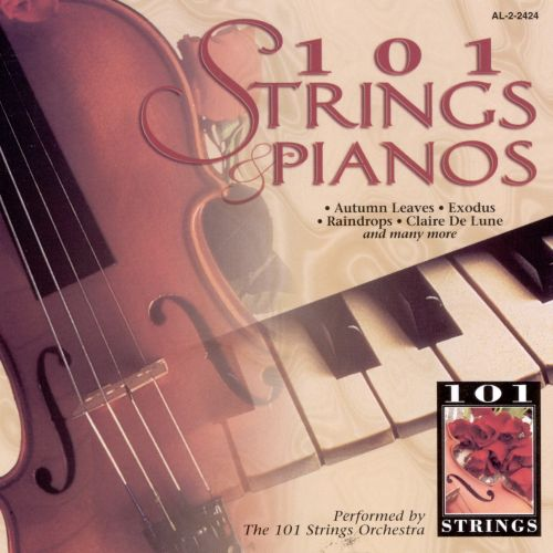 101 Strings & Pianos [Alshire]