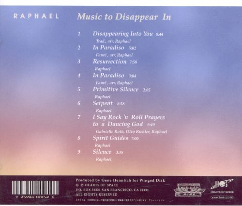 Music to Disappear In