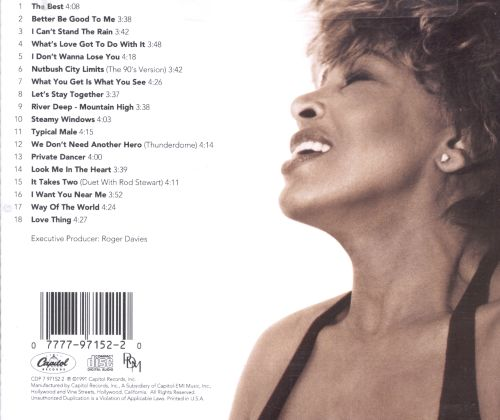 Tina Turner - Simply The Best - Music