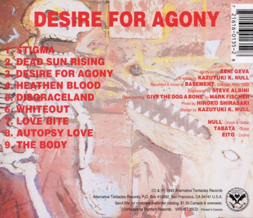 Desire for Agony