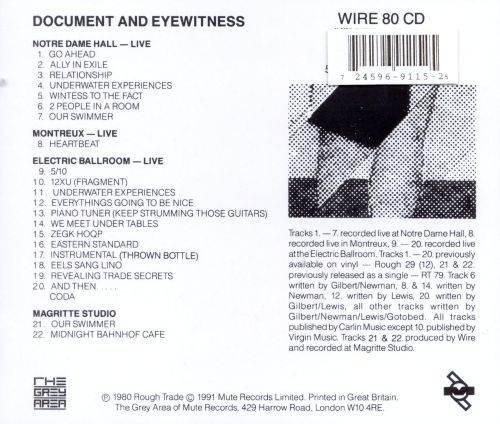 Document & Eyewitness 1979-1980