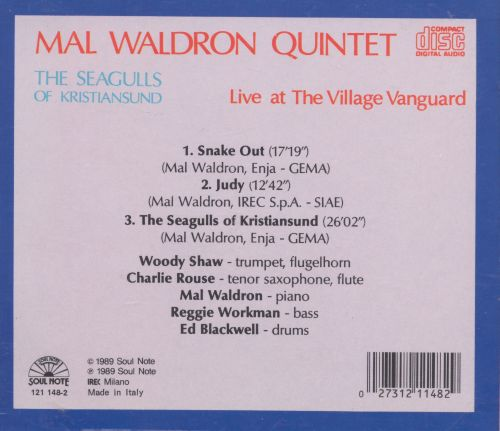 Seagulls of Kristiansund: Live at the Village Vanguard