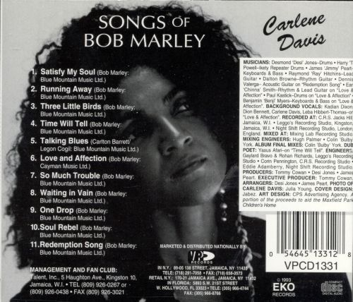 Songs of Bob Marley