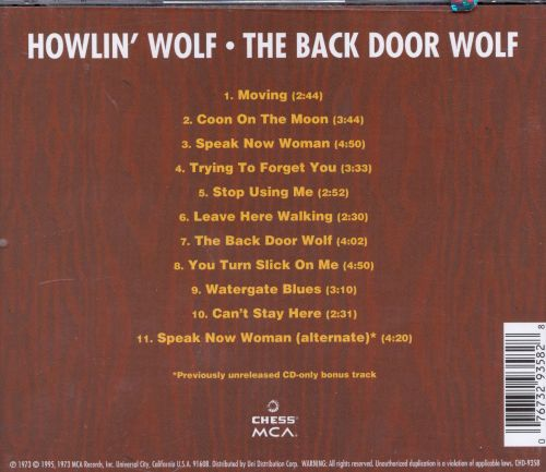 The Back Door Wolf