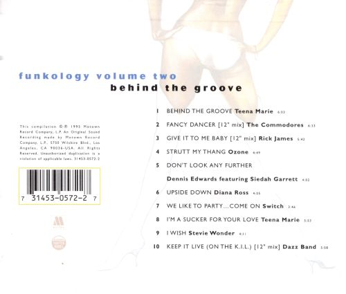 Funkology, Vol. 2: Behind the Groove