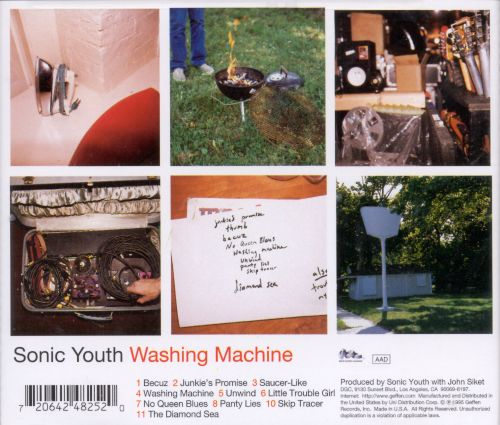 washing machine songs