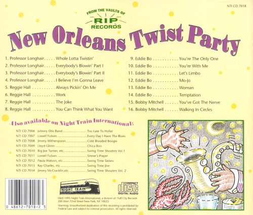 New Orleans Twist Party