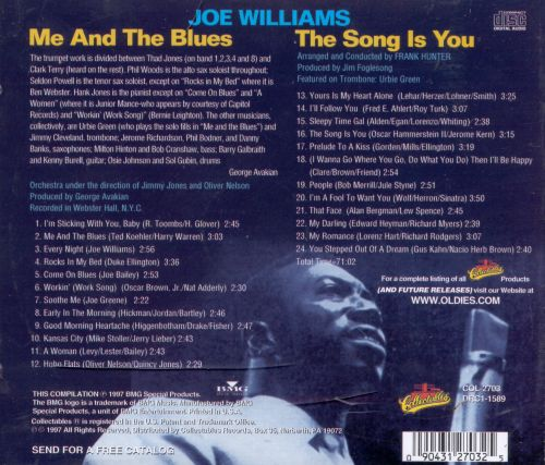 Me and the Blues/The Song Is You
