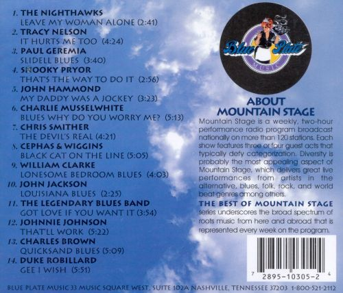 Blues Live from Mountain Stage