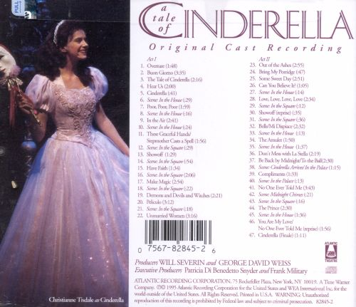 A Tale of Cinderella: New Musical for the Whole Family