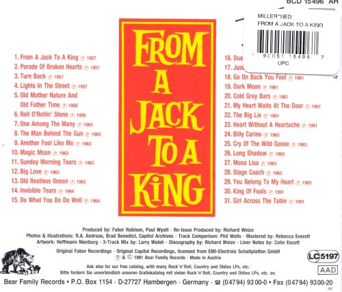 From a Jack to a King [Anthology]