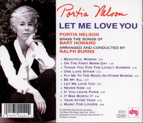 Let Me Love You: The Songs of Bart Howard