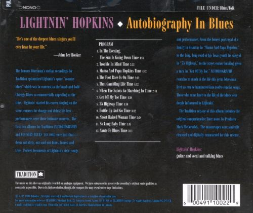Autobiography in Blues